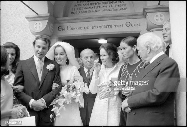 Wedding of Nikolas Sistovaris and Josephine ChaplinWedding of Nikolas Sistovaris and Josephine Chaplin 1969