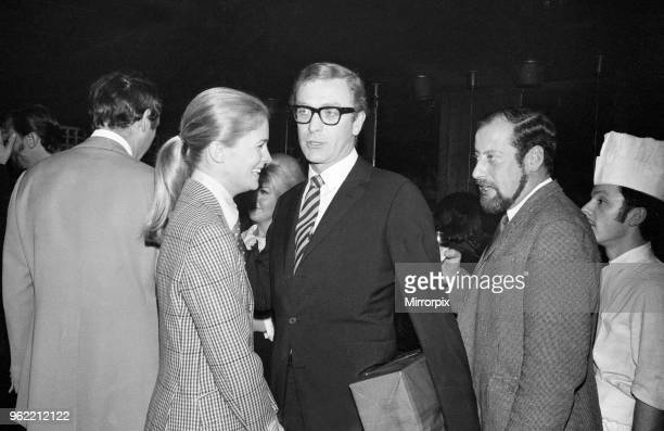 Wedding of Polish film director Roman Polanski and his bride American actress Sharon Tate at Chelsea Register Office London Picture shows Actor...