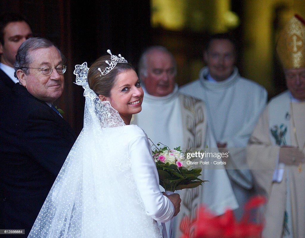Wedding of Prince Carlos de Bourbon de Parme : Nachrichtenfoto