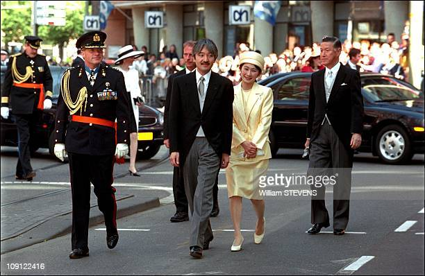 Wedding Of Prince Constantin And Laurentien Brinkhorst On May 19Th, 2001 In The Hague, Netherlands. Prince & Princess Akishino Of Japan