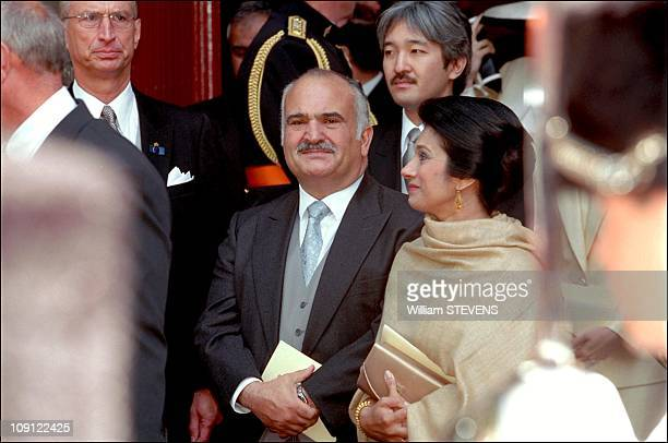 Wedding Of Prince Constantin And Laurentien Brinkhorst On May 19Th 2001 In The Hague Netherlands Prince Hassan Bin Talal And Princess Sarvath El...