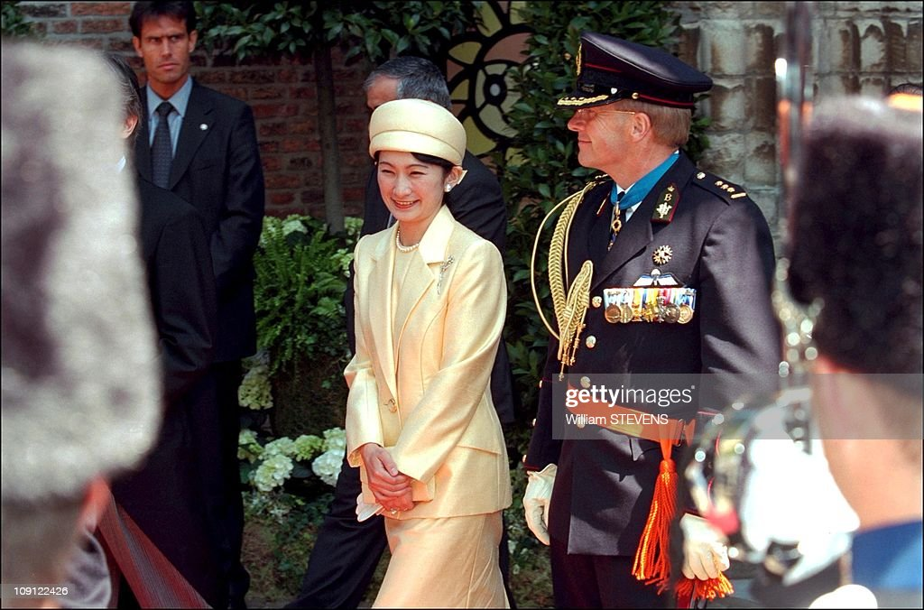 Wedding Of Prince Constantin And Laurentien Brinkhorst On May 19Th, 2001 In La Haye, Netherlands. : News Photo