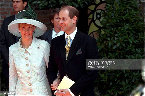 Wedding Of Prince Constantin And Laurentien Brinkhorst On May 19Th, 2001 In The Hague, Netherlands. Count & Countess Of Wessex