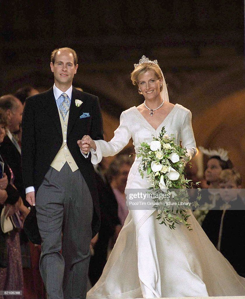 Wedding Of Prince Edward And Sophie Rhys-jones.