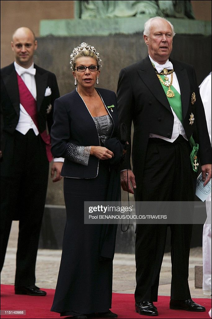 Wedding Of Prince Frederik Of Denmark And Mary Donaldson: Arrivals At The Cathedral In Copenhagen, Denmark On May 14, 2004. : News Photo
