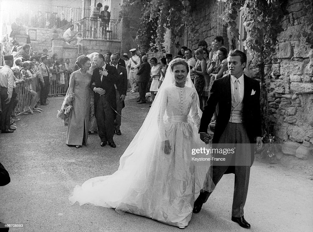 Wedding of Prince Jacques d Orleans... : News Photo