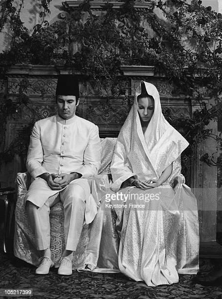 Wedding Of Prince Karim Aga Khan With Begum Salima