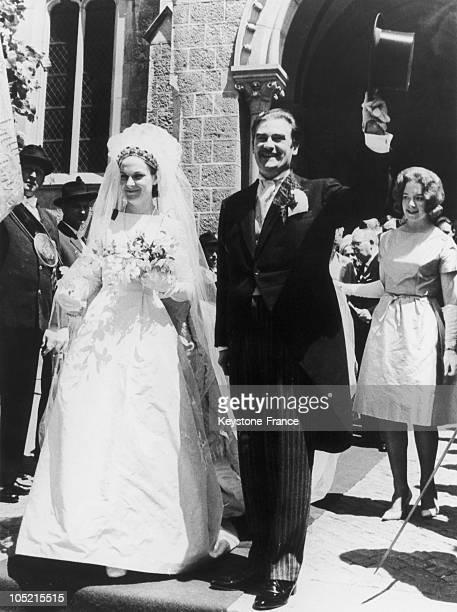 Wedding Of Prince MarieEmmanuel Von Sax E And Princess AnastasiaLouise Von Anhalt Vevey June 1962