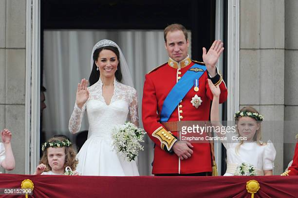 UK Wedding of Prince William Kate Middleton Buckingham Palace