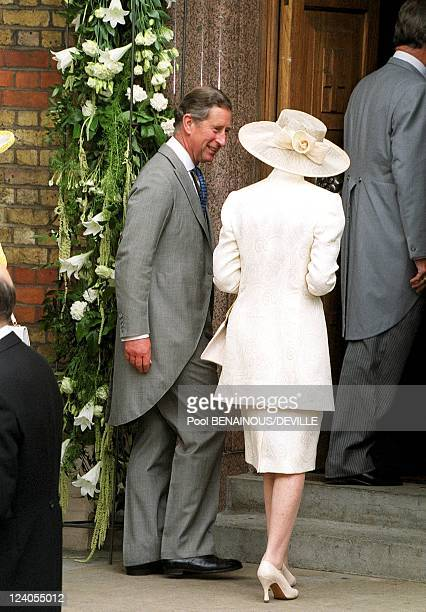 Wedding Of Princess Alexia Of Greece And Carlos Morales Quintana In London, United Kingdom On July 09, 1999 - Prince Charles.