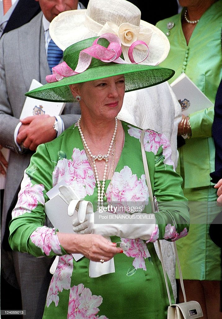 Wedding Of Princess Alexia Of Greece And Carlos Morales Quintana In London, United Kingdom On July 09, 1999. : News Photo