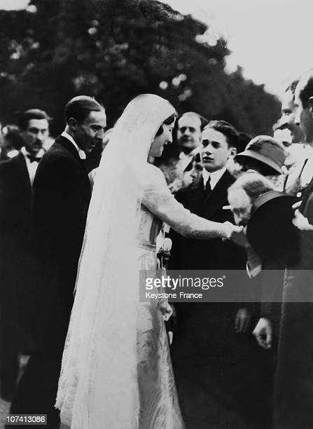 Wedding Of Princess Isabelle Of Orleans Braganza With The Earl Of Paris On April 1931