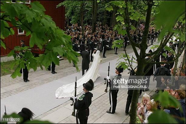Wedding of Princess Martha Louise and Ari Behn in Trondheim Norway on May 24 2002