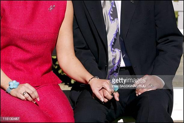 Wedding of Princess Martha Louise and Mr Ari Behn in Trondheim Norway on May 22 2002