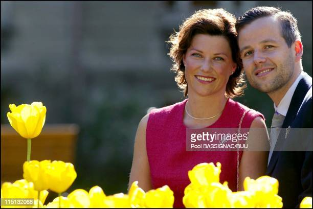 Wedding of Princess Martha Louise and Mr Ari Behn in Trondheim, Norway on May 22, 2002.