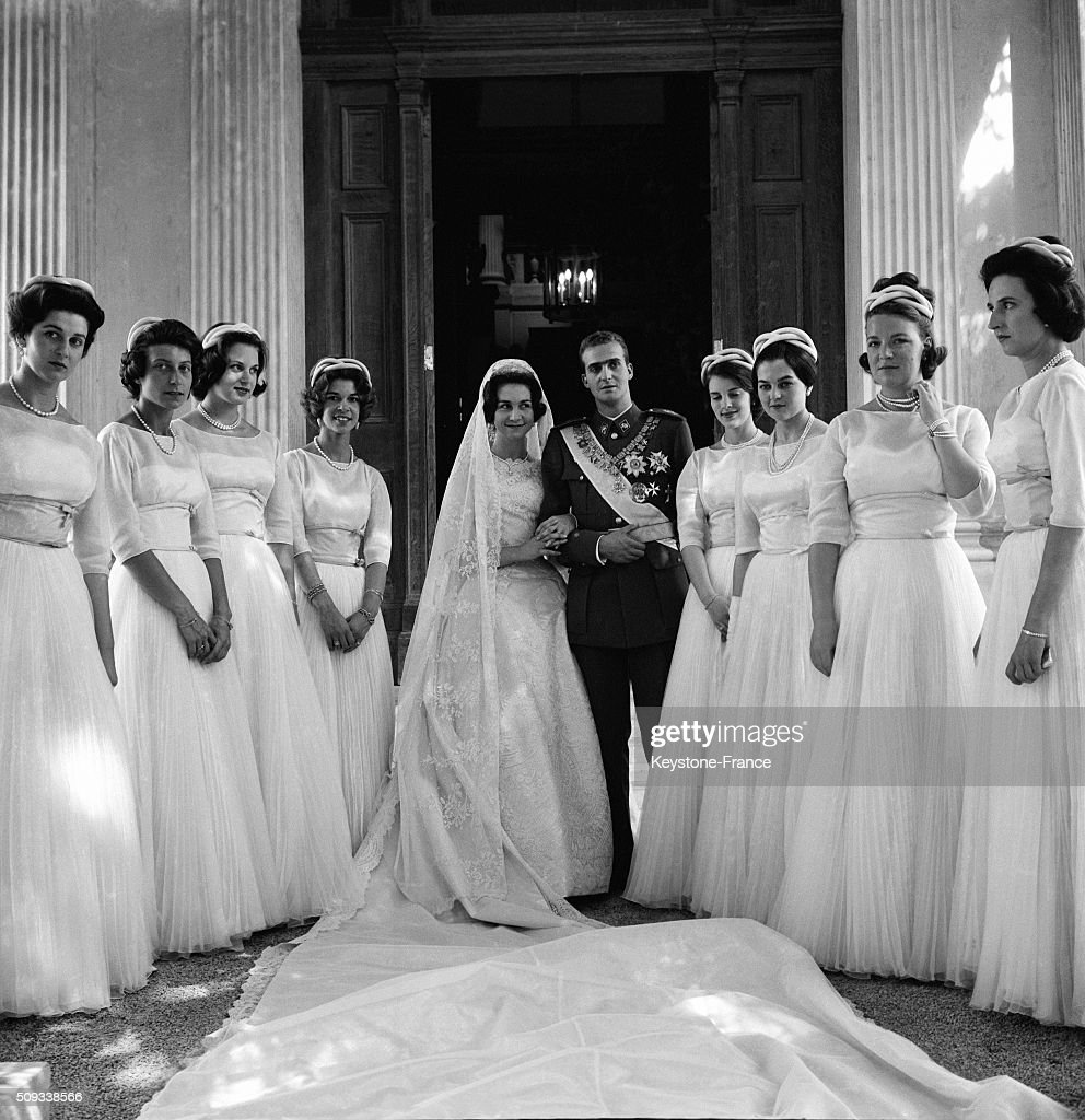 Wedding Of Princess Sophie Of Greece With Don Juan Carlos Of Spain... : News Photo