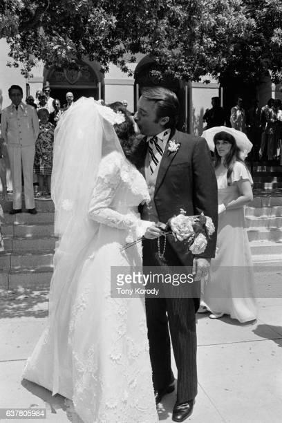 Wedding of Robert Vaughn and Linda Staab