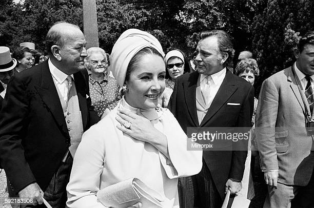 Wedding of Sheran Cazalet and Simon Hornby at Fairlawn in Sussex on 15th June 1968 Guests included Elizabeth Taylor Richard Burton Noel Coward