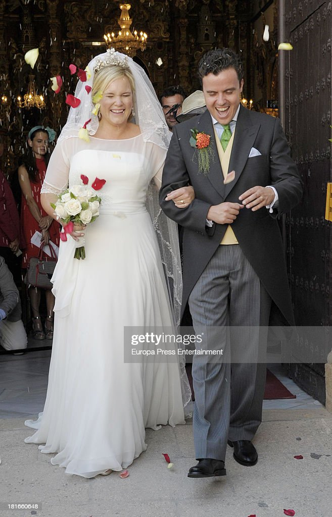 Sophie Von Schonburg and Carlos Andreu Wedding