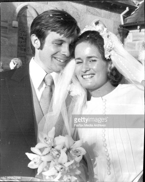 Wedding of Taylor and Wall at St Peters Church Watsond BayGeoffrey and Susan WallSusan Taylor only daughter of Keith and Doris Taylor of Capetown...
