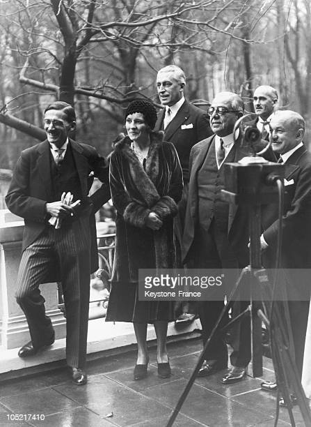 Wedding Of The Aga Khan And Andree Carron In AixLes Bains In 1929