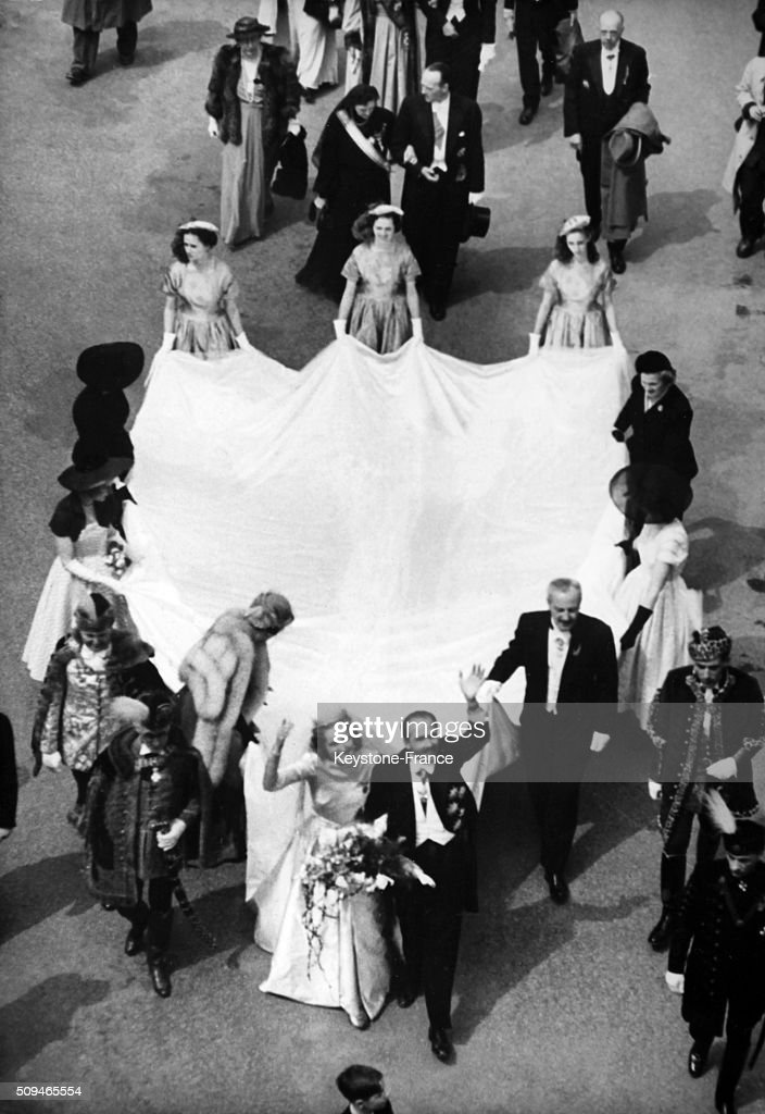 Wedding of the Archduke Otto Von Habsburg : ニュース写真
