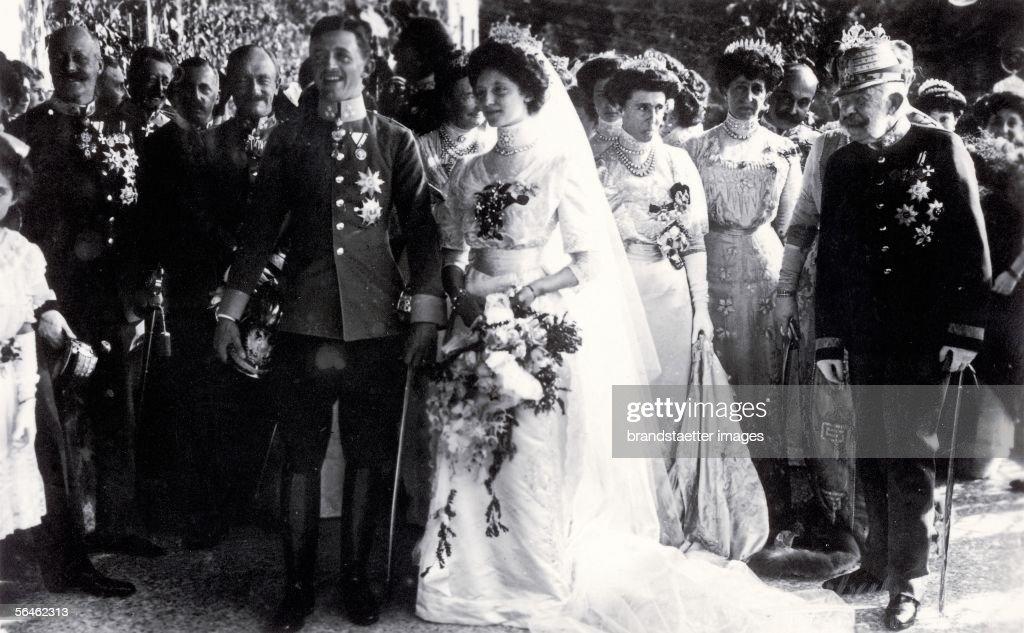 Wedding of the later Emperor Karl I : Fotografía de noticias