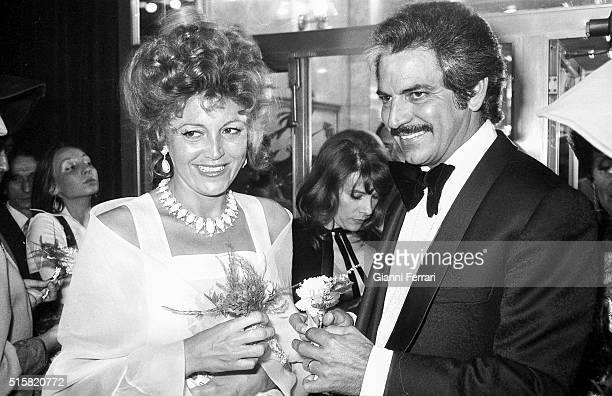 Wedding of the Venezuelan actor Espartaco Santoni and Carmen Cervera Madrid Spain