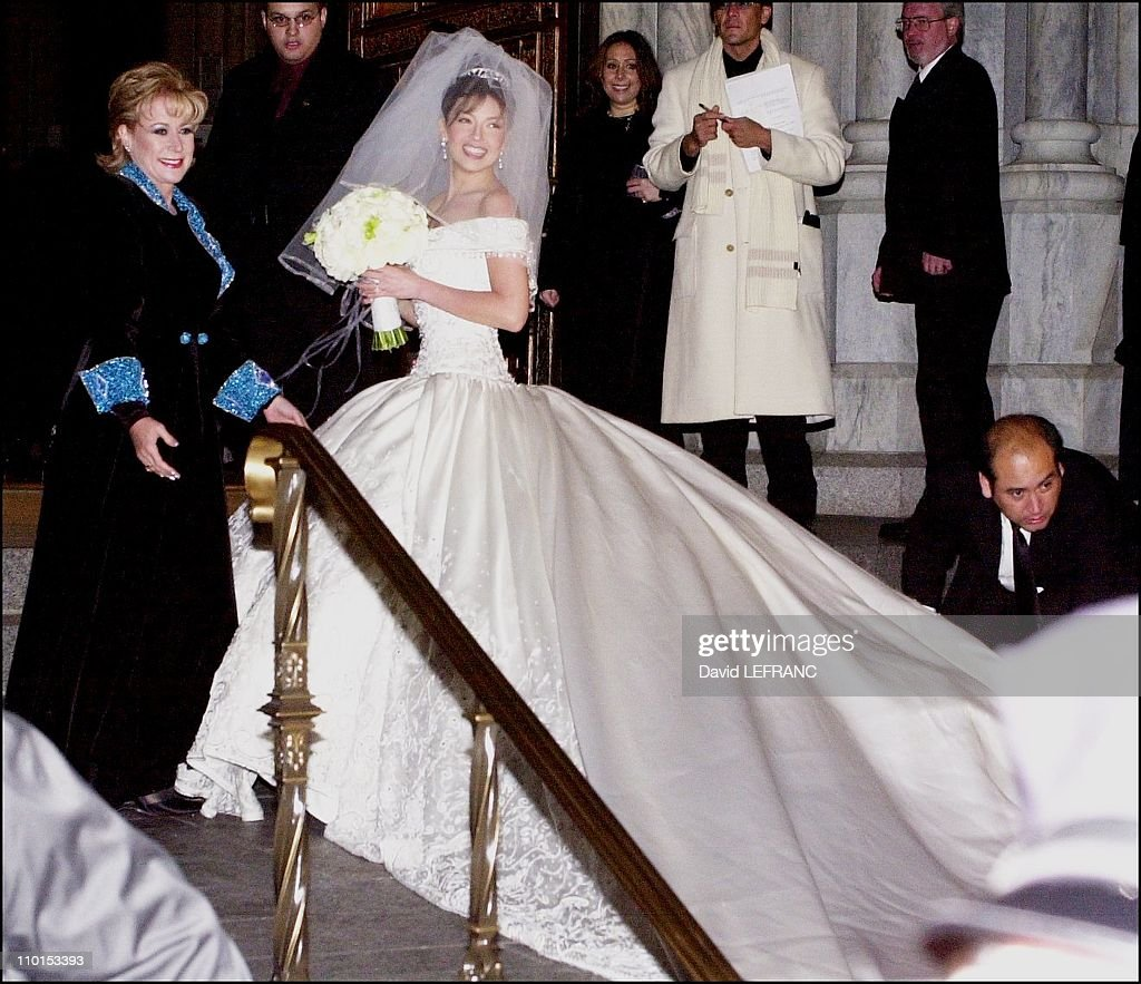 Wedding Of Tommy Mottola Pdt Sony Music And Mexican Singer Thailand In New