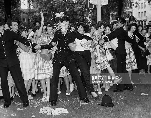 Wedding Of Tommy Steele To Ann Donoghue At London In England During 1960