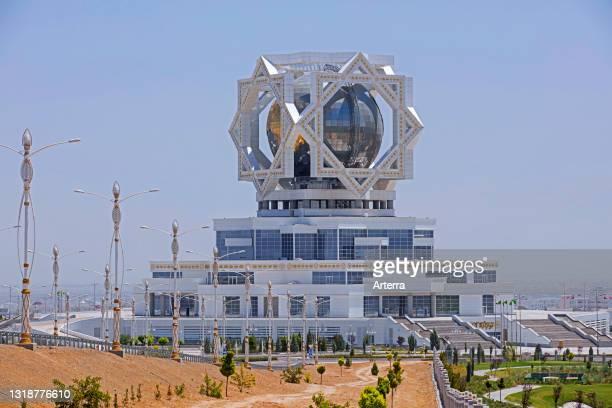 Wedding Palace / Bagt Koshgi / Palace of Happiness, civil registry building in the capital city Ashgabat, Turkmenistan.