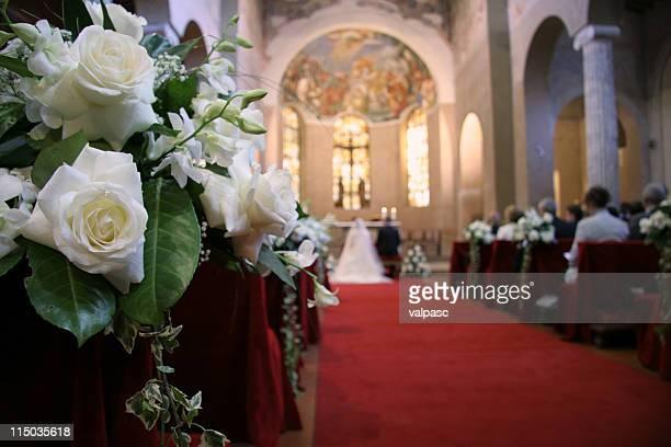 wedding - kerk stockfoto's en -beelden