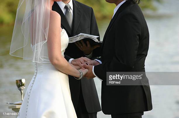 wedding - wedding vows stock pictures, royalty-free photos & images