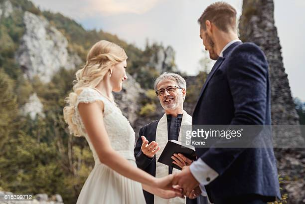 wedding - priest stock pictures, royalty-free photos & images