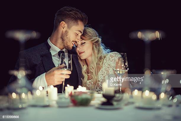 wedding - flirting stock pictures, royalty-free photos & images