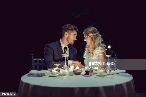 wedding - evening meal stock pictures, royalty-free photos & images