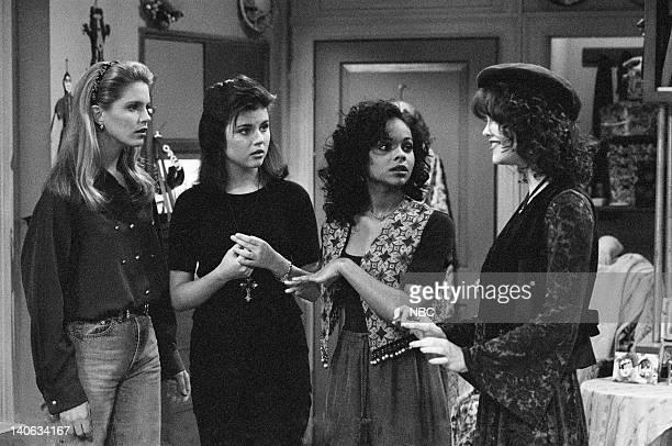 YEARS Wedding Plans Episode 19 Air Date Pictured Anne Tremko as Leslie Burke Tiffani Thiessen as Kelly Kapowski Lark Voorhies as Lisa Turtle Tiffani...