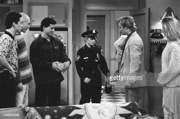 YEARS 'Wedding Plans' Episode 19 Air Date Pictured Dustin Diamond as Screech Powers Mario Lopez as AC Slater Kathy Hartsell as Cop MarkPaul Gosselaar...