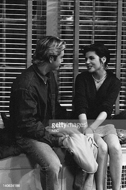 YEARS 'Wedding Plans' Episode 19 Air Date Pictured MarkPaul Gosselaar as Zack Morris Tiffani Thiessen as Kelly Kapowski Photo by Frank Carroll/NBCU...