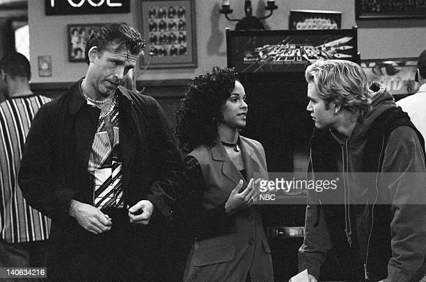 YEARS Wedding Plans Episode 19 Air Date Pictured Marty Rackham as Stan Lark Voorhies as Lisa Turtle MarkPaul Gosselaar as Zack Morris Photo by Frank...