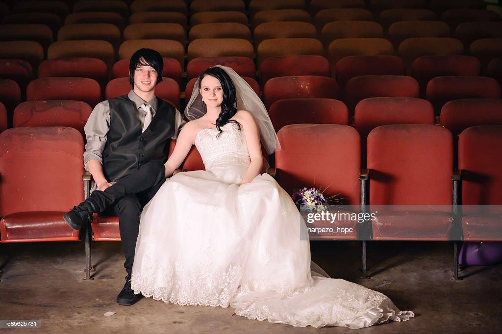 Wedding Portrait : Stock Photo