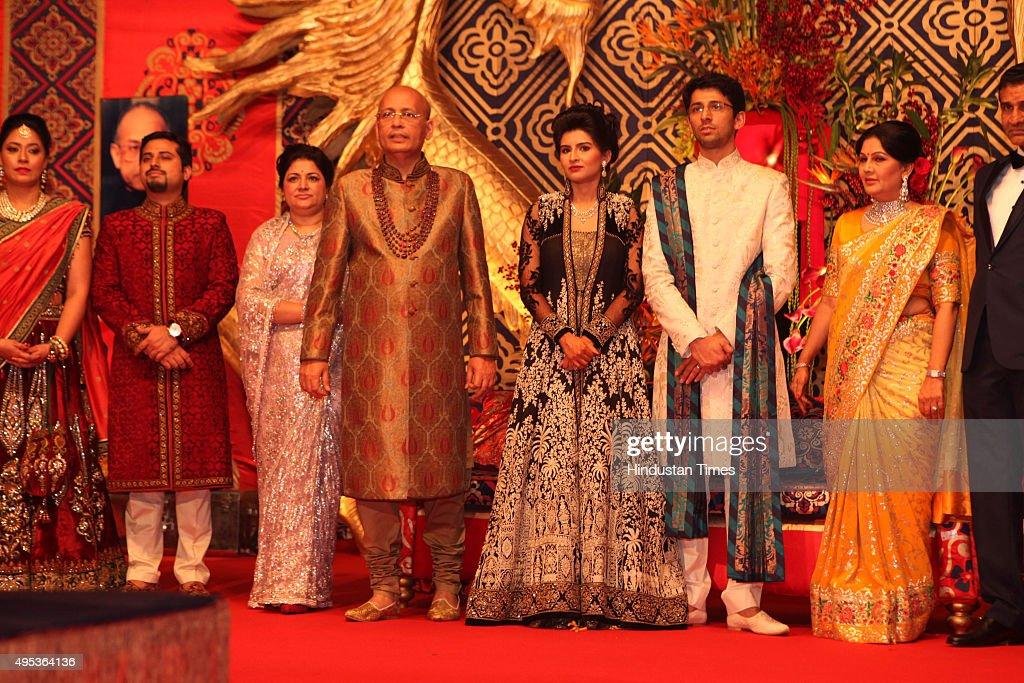 Wedding Reception Of MP And Congress Spokesperson Abhishek Manu Singhvis Son Avishkar His