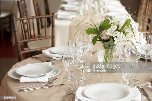 wedding reception - wedding decoration stock pictures, royalty-free photos & images