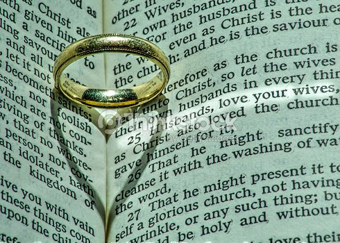 Wedding Ring Has Deeper Meaning To The Heart Stock Photo
