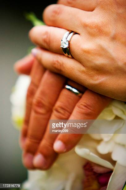 wedding ring stock photos and pictures getty images - Wedding Rings On Hands