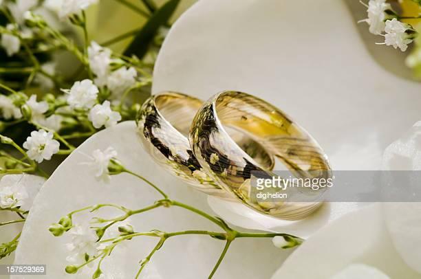 Hochzeit Ringe in der Strauß