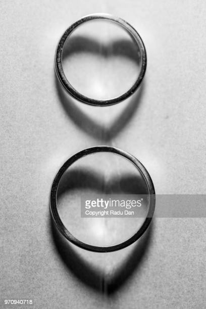 wedding rings - marriage stock pictures, royalty-free photos & images