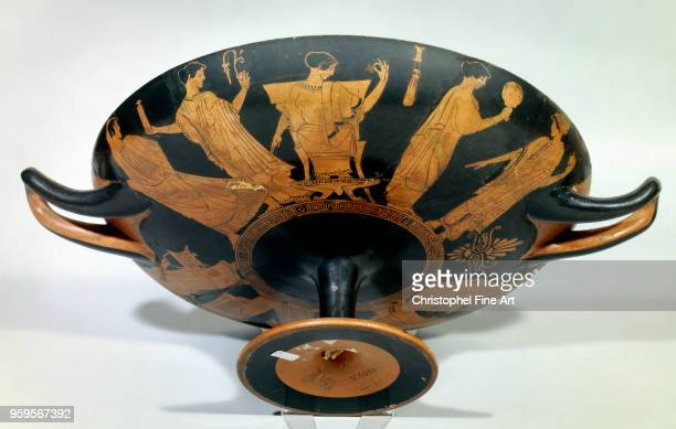 Wedding scene gynoecium athenes red figures Greek Art Vivenel Museum of Compiegne Greece
