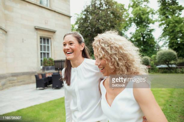 wedding smiles - wedding ceremony stock pictures, royalty-free photos & images