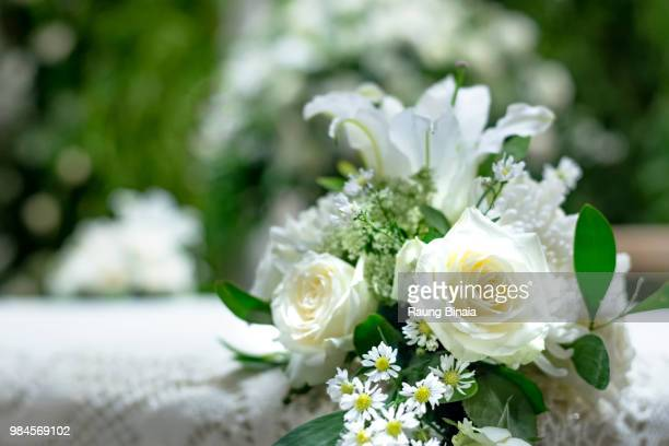 wedding table decoration - decoration stock pictures, royalty-free photos & images